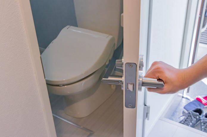 家のトイレ