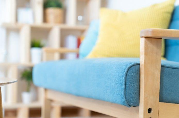 リビングのソファのイメージ